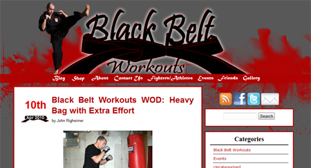 Black Belt Workouts
